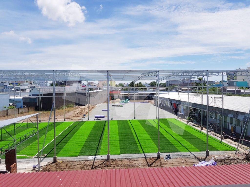 1, Một số hình ảnh của dự án sân bóng đá tại Tp. Cà Mau 1