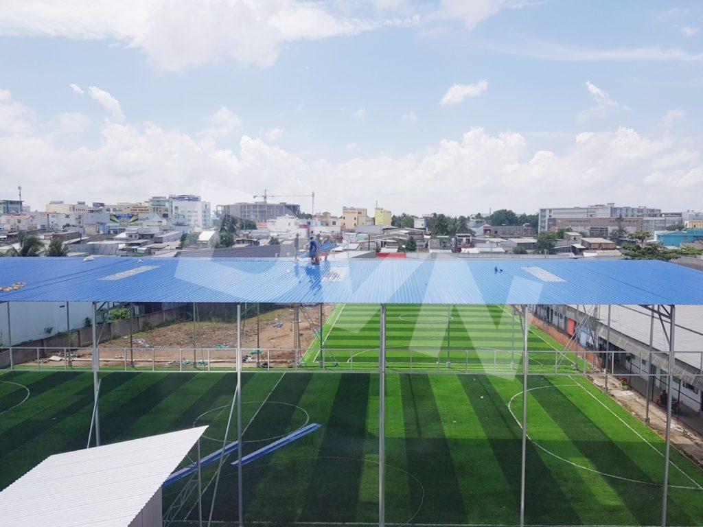 1, Một số hình ảnh của dự án sân bóng đá tại Tp. Cà Mau 2
