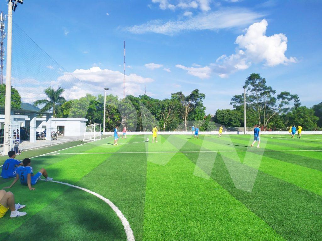 1, Một số hình ảnh của dự án sân bóng đá tại Lang Chánh, Thanh Hóa 11
