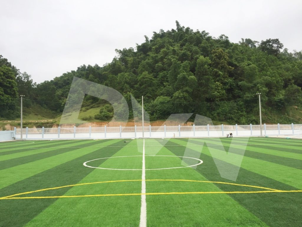 1, Một số hình ảnh của dự án sân bóng đá tại Lang Chánh, Thanh Hóa 2