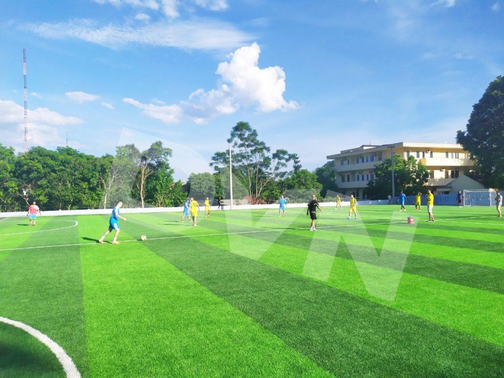 1, Một số hình ảnh của dự án sân bóng đá tại Lang Chánh, Thanh Hóa 9