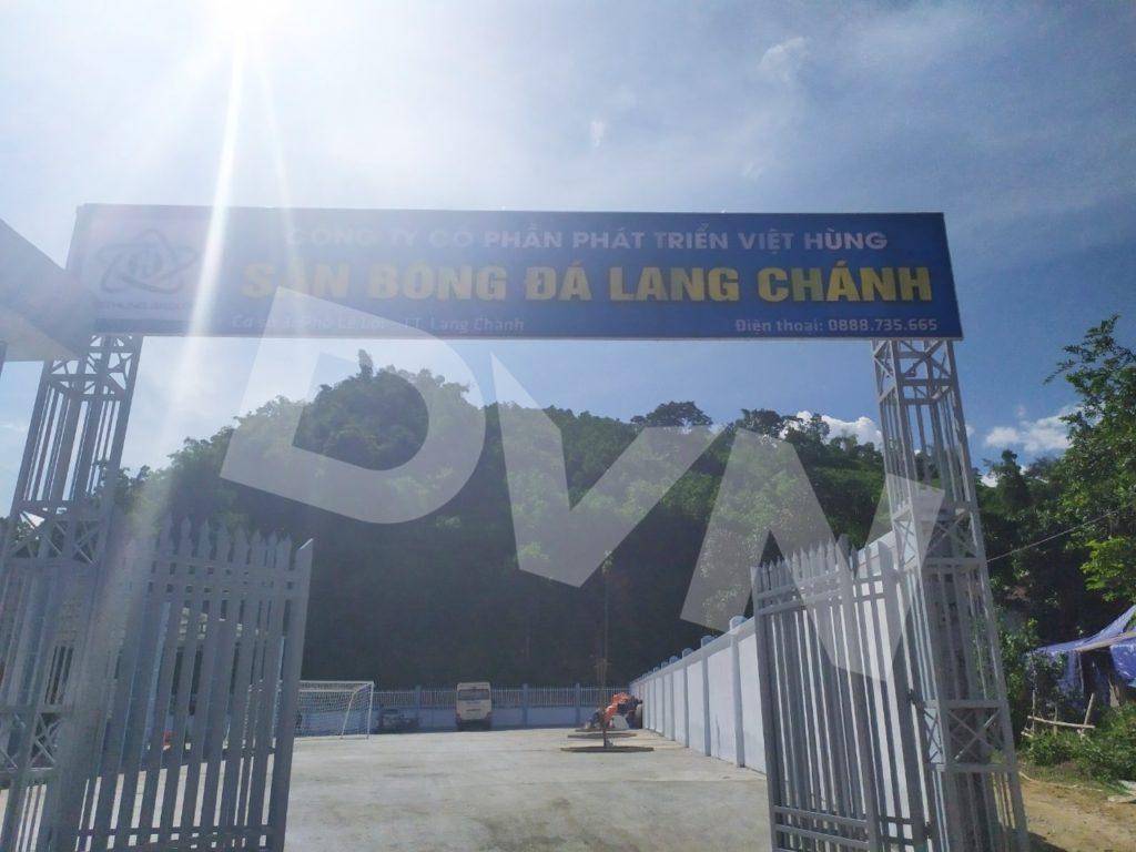 1, Một số hình ảnh của dự án sân bóng đá tại Lang Chánh, Thanh Hóa 1