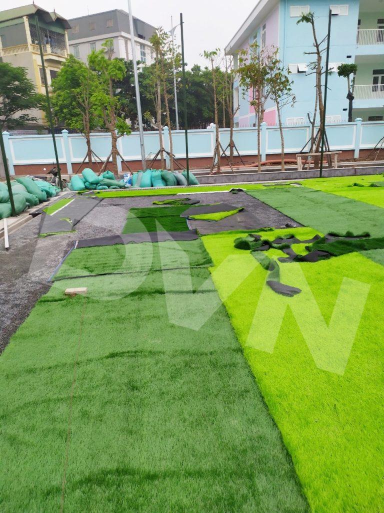 1, Một số hình ảnh của dự ánsân bóng Trường tiểu học Phú Diễn, Hà Nội 3