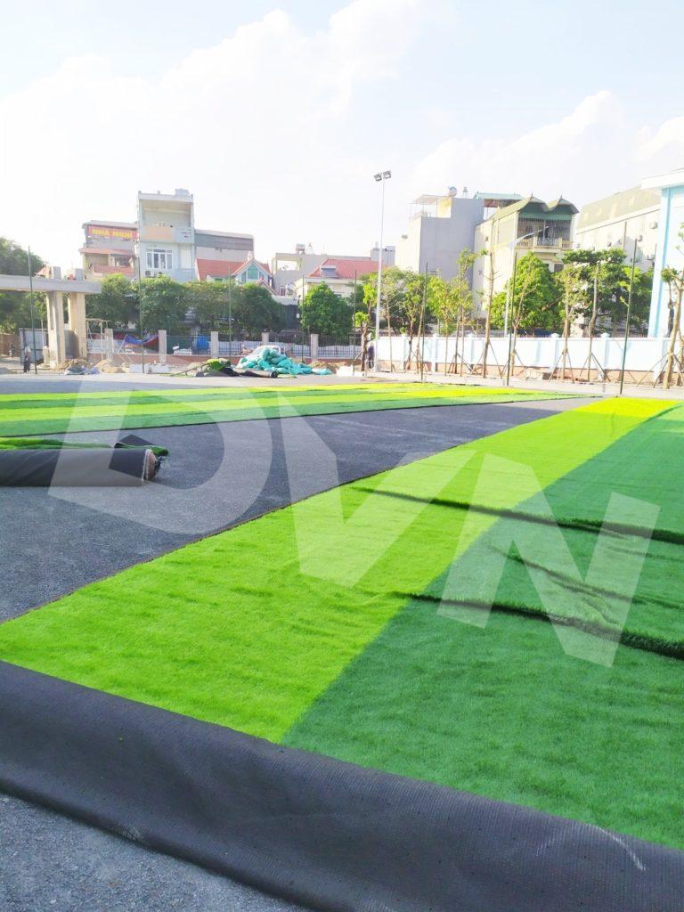 1, Một số hình ảnh của dự ánsân bóng Trường tiểu học Phú Diễn, Hà Nội 1