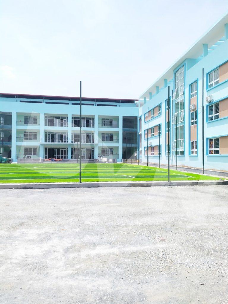 1, Một số hình ảnh của dự ánsân bóng Trường tiểu học Phú Diễn, Hà Nội 7