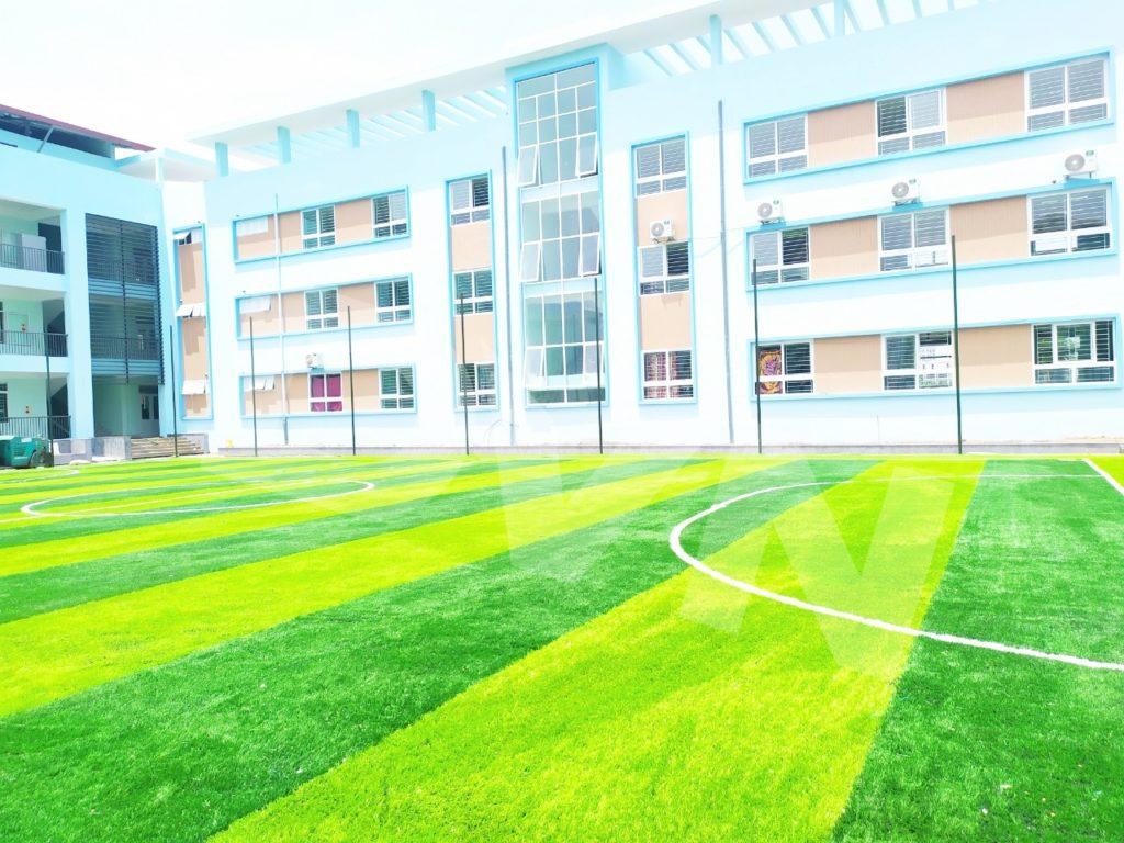 1, Một số hình ảnh của dự ánsân bóng Trường tiểu học Phú Diễn, Hà Nội 6