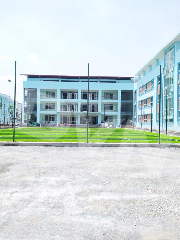 1, Một số hình ảnh của dự ánsân bóng Trường tiểu học Phú Diễn, Hà Nội 8