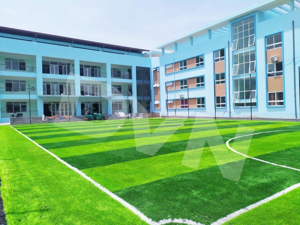 1, Một số hình ảnh của dự ánsân bóng Trường tiểu học Phú Diễn, Hà Nội 5
