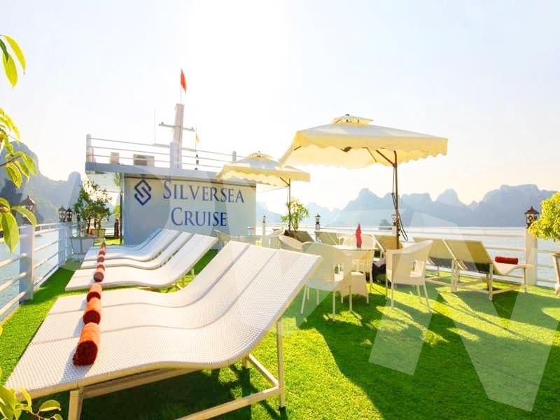 1, Một số hình ảnh của dự ánTrải cỏ Du thuyền Hạ Long Silversea Cruise 2
