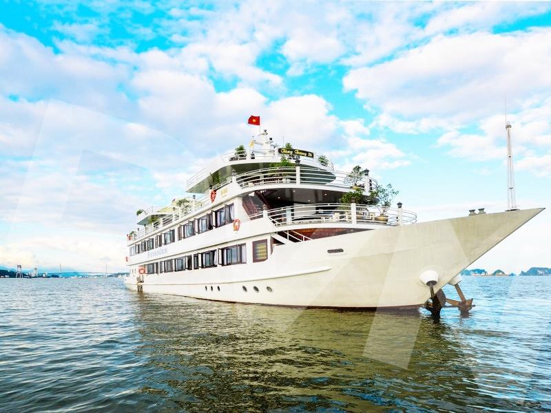 1, Một số hình ảnh của dự ánTrải cỏ Du thuyền Hạ Long Silversea Cruise 1
