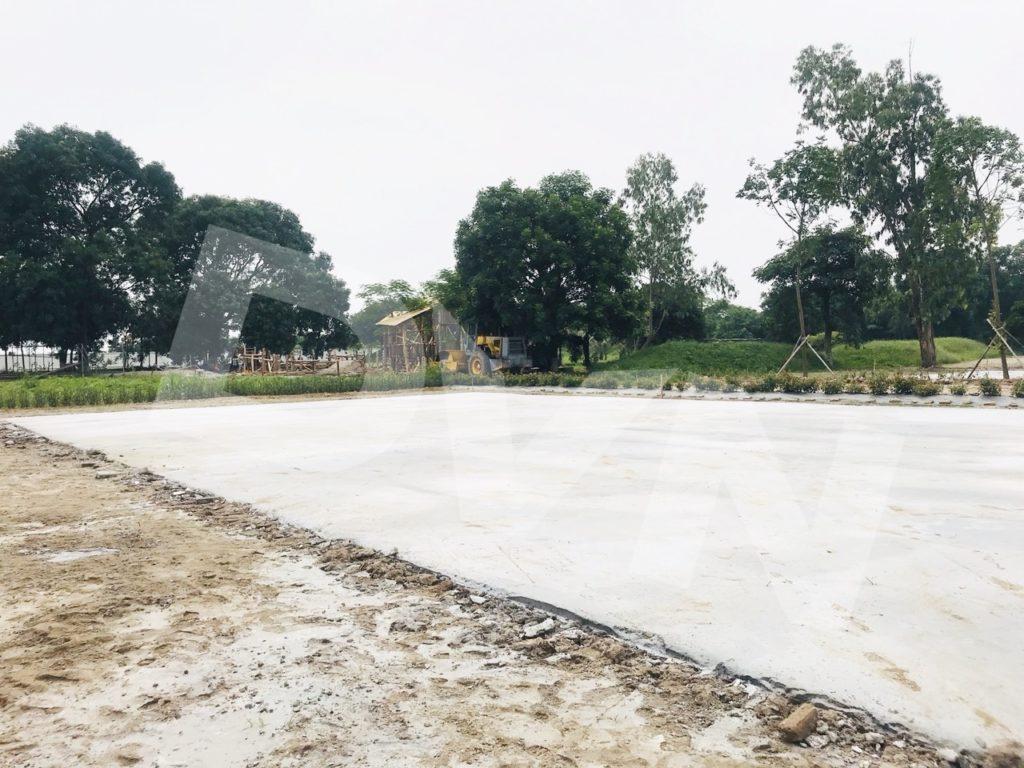 1, Một số hình ảnh của dự ánTrải cỏTrang Trại Giáo Dục Ánh Dương 3