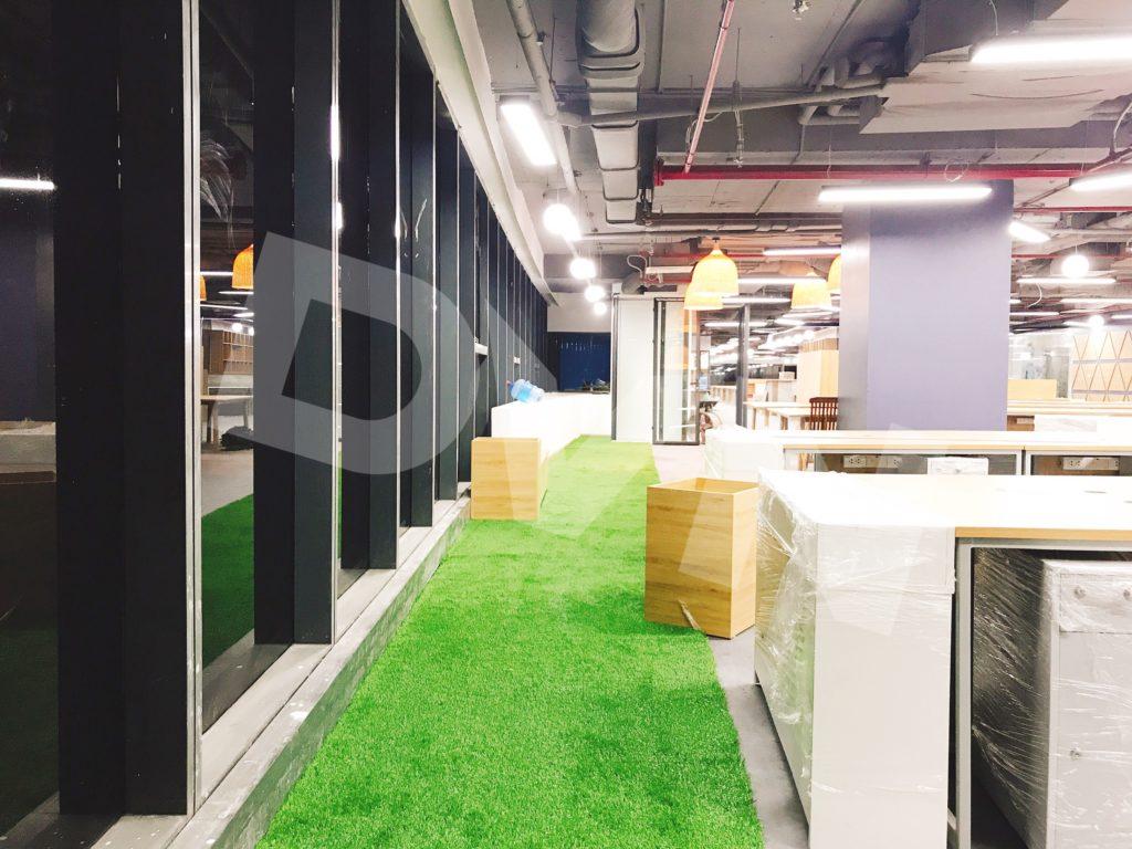 1, Một số hình ảnh của dự án Trải cỏ văn phòng tại Toà nhà TNR Tower 1