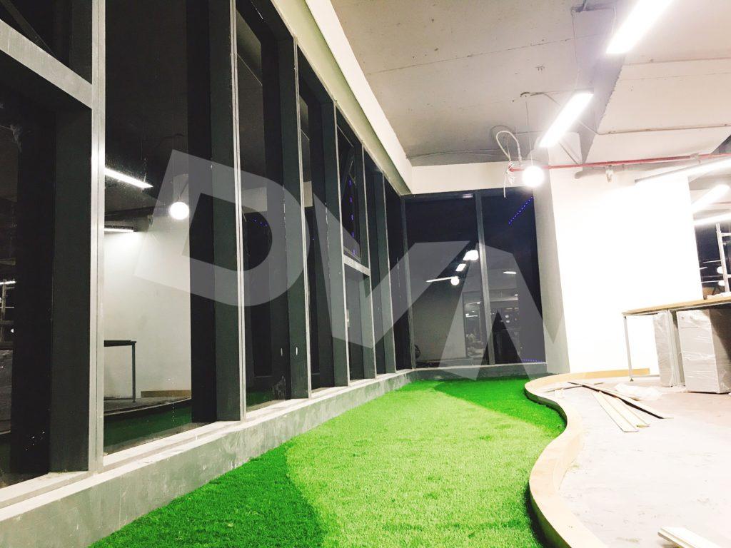 1, Một số hình ảnh của dự án Trải cỏ văn phòng tại Toà nhà TNR Tower 9