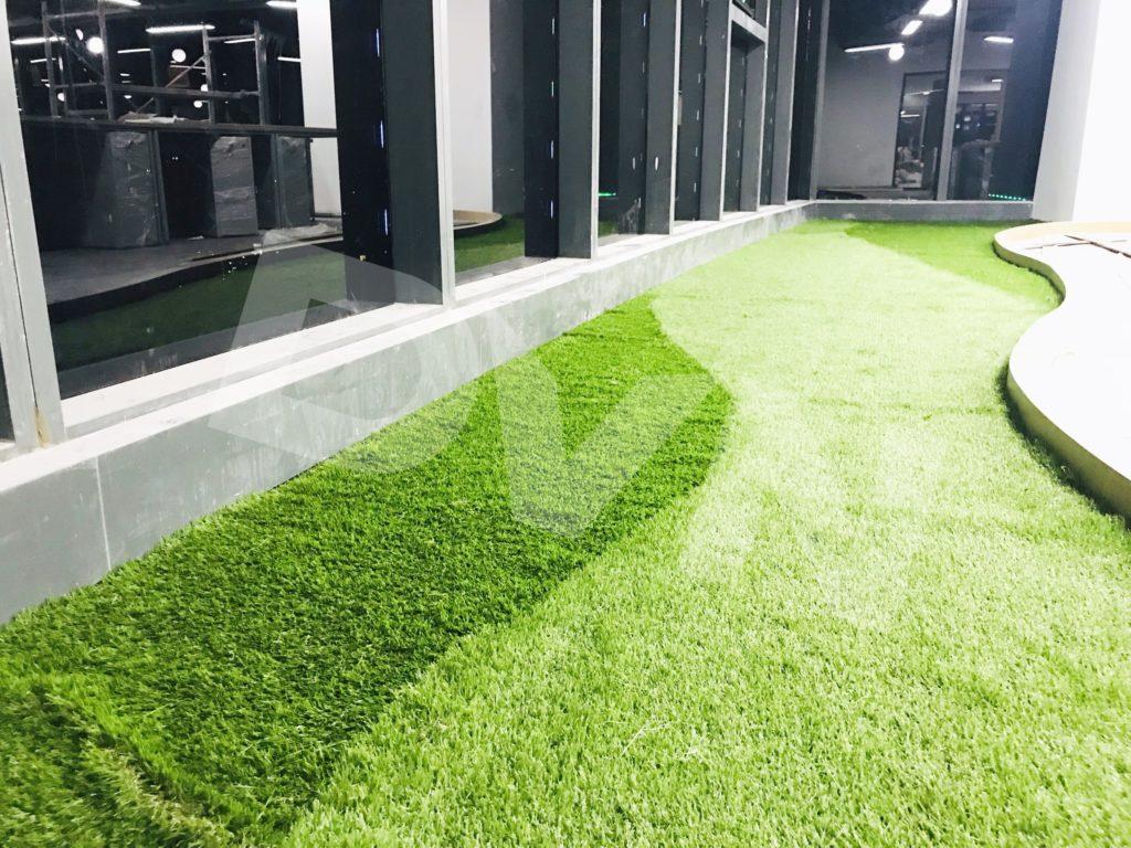 1, Một số hình ảnh của dự án Trải cỏ văn phòng tại Toà nhà TNR Tower 7