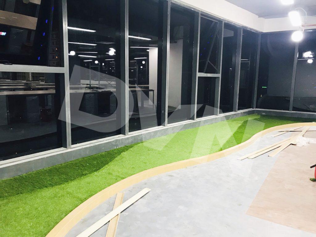 1, Một số hình ảnh của dự án Trải cỏ văn phòng tại Toà nhà TNR Tower 6