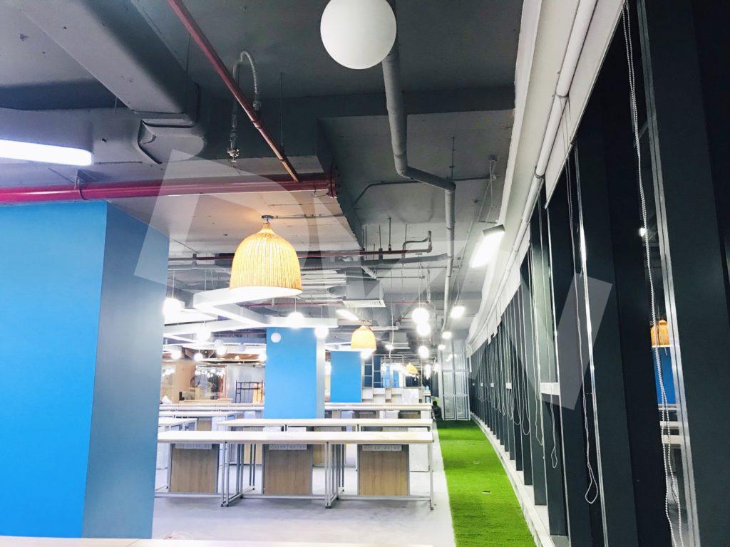 1, Một số hình ảnh của dự án Trải cỏ văn phòng tại Toà nhà TNR Tower 4