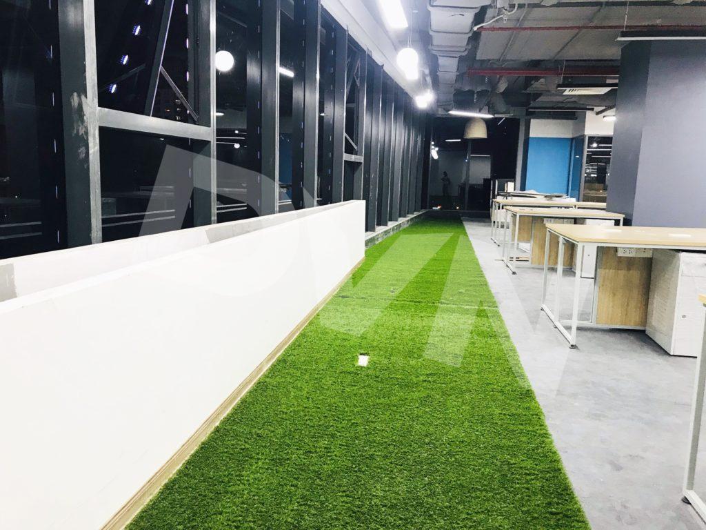 1, Một số hình ảnh của dự án Trải cỏ văn phòng tại Toà nhà TNR Tower 3