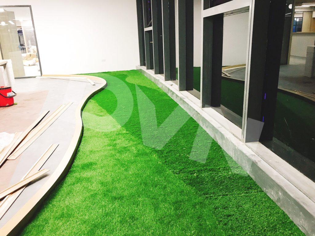 1, Một số hình ảnh của dự án Trải cỏ văn phòng tại Toà nhà TNR Tower 8