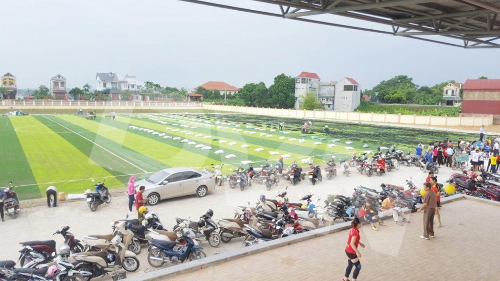 1, Một số hình ảnh của dự án Sân vận động huyện Thanh Thuỷ 2