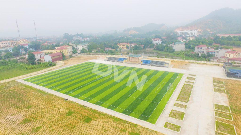 1, Một số hình ảnh của dự án Sân vận động huyện Thanh Thuỷ 13