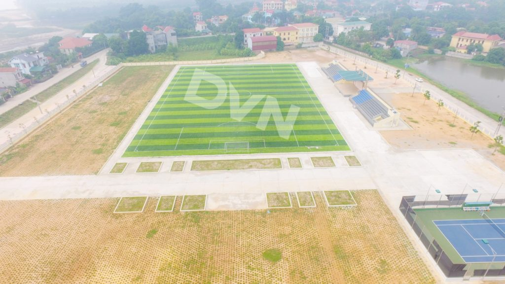 1, Một số hình ảnh của dự án Sân vận động huyện Thanh Thuỷ 11