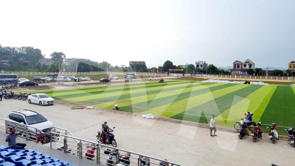 1, Một số hình ảnh của dự án Sân vận động huyện Thanh Thuỷ 10
