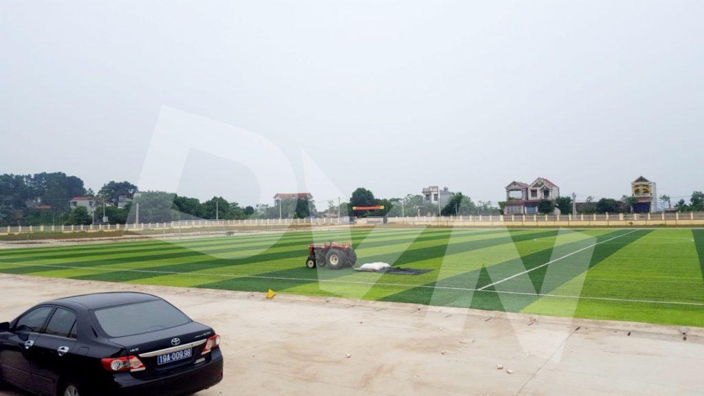 1, Một số hình ảnh của dự án Sân vận động huyện Thanh Thuỷ 4