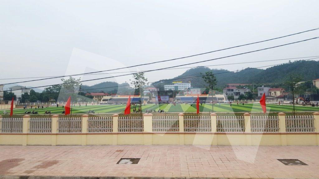 1, Một số hình ảnh của dự án Sân vận động huyện Thanh Thuỷ 8