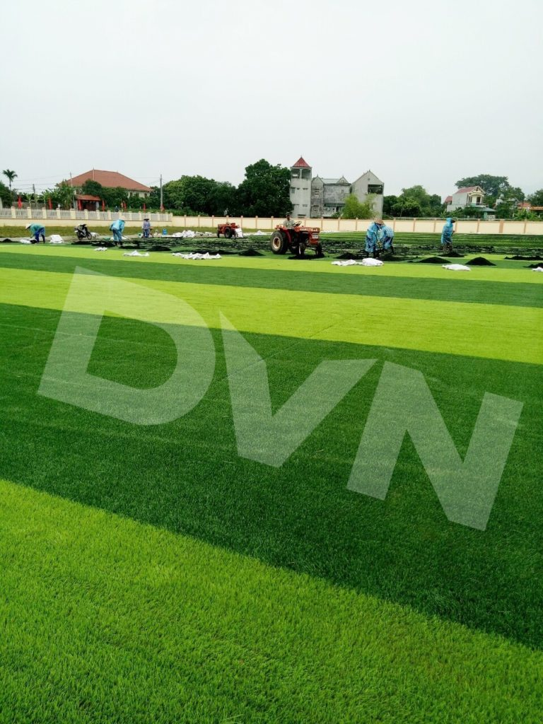1, Một số hình ảnh của dự án Sân vận động huyện Thanh Thuỷ 5