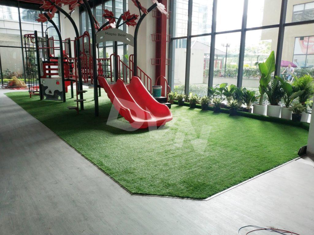 1, Một sốdự ántrải cỏ tạiTrường Mầm non quốc tế Canada Maple Bear 7