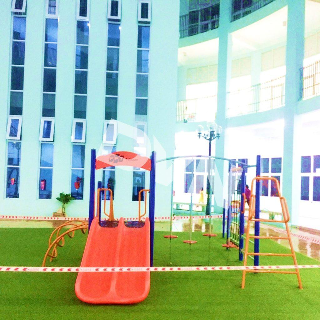 1, Một số hình ảnh sân chơi tại Quảng trường Trung tâm tỉnh Tiền Giang 1
