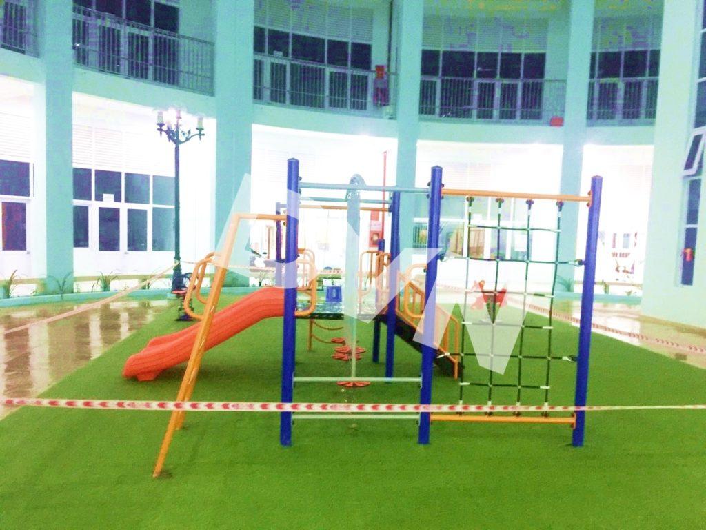 1, Một số hình ảnh sân chơi tại Quảng trường Trung tâm tỉnh Tiền Giang 2