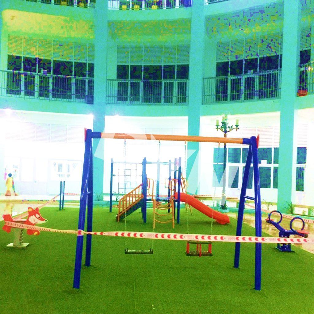 1, Một số hình ảnh sân chơi tại Quảng trường Trung tâm tỉnh Tiền Giang 3
