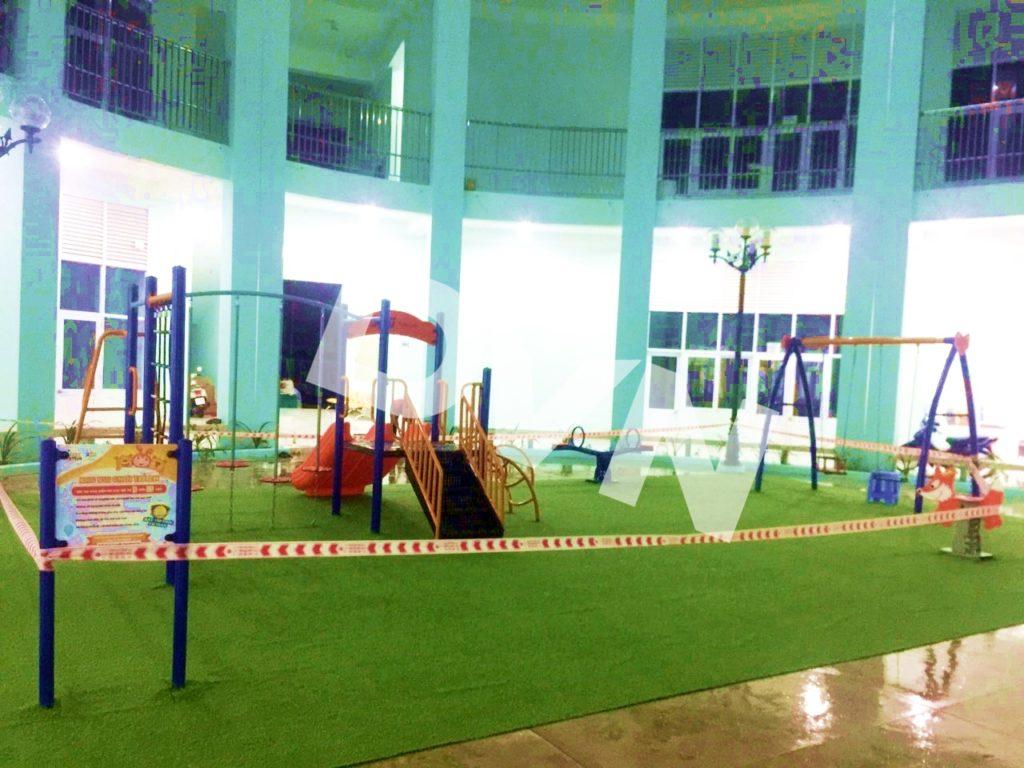 1, Một số hình ảnh sân chơi tại Quảng trường Trung tâm tỉnh Tiền Giang 4