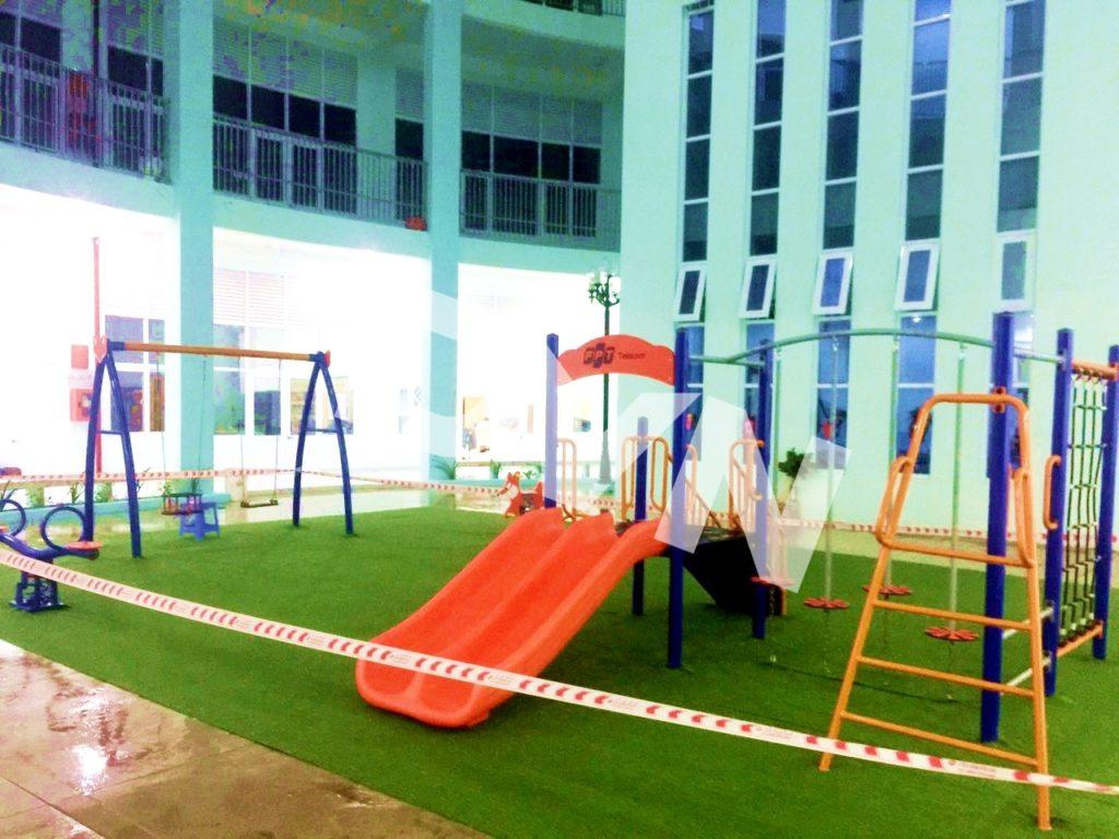 1, Một số hình ảnh sân chơi tại Quảng trường Trung tâm tỉnh Tiền Giang 5