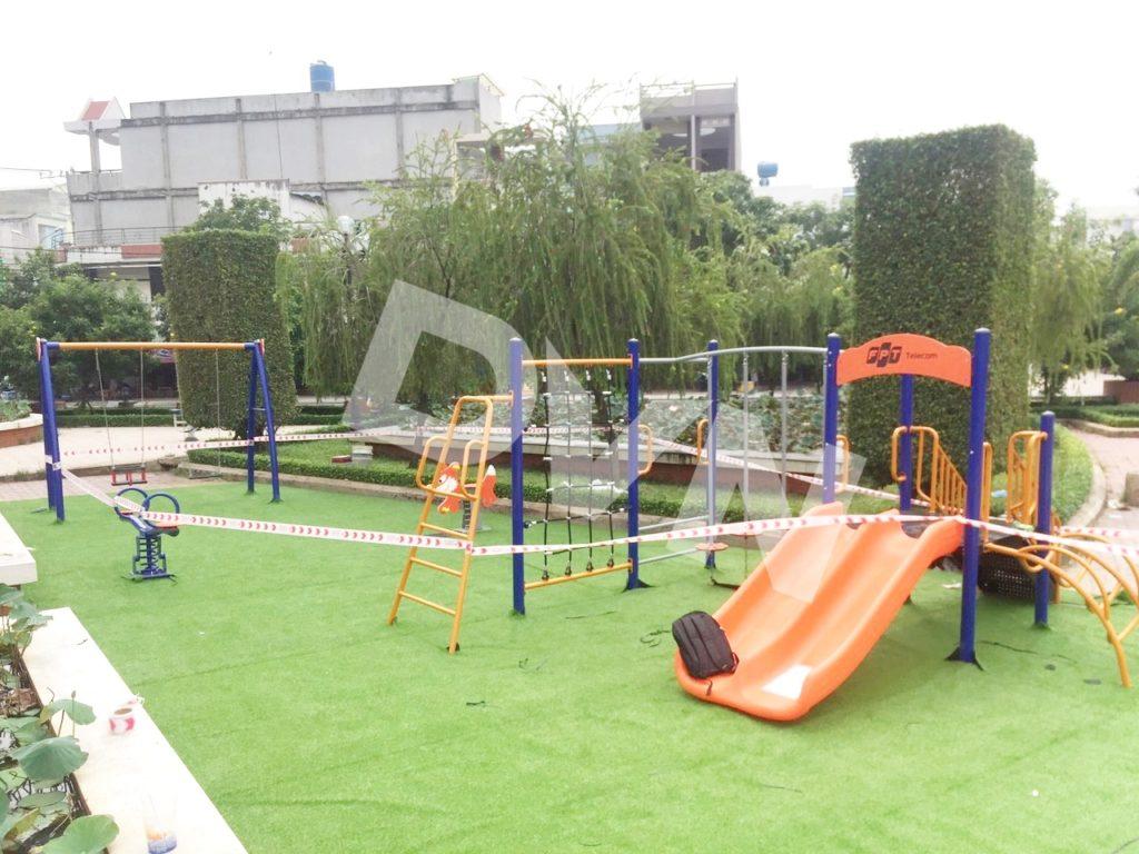 1, Một số hình ảnh sân chơi tạiTrung Tâm Văn Hóa - Thể Thao Huyện Bến Lức 4