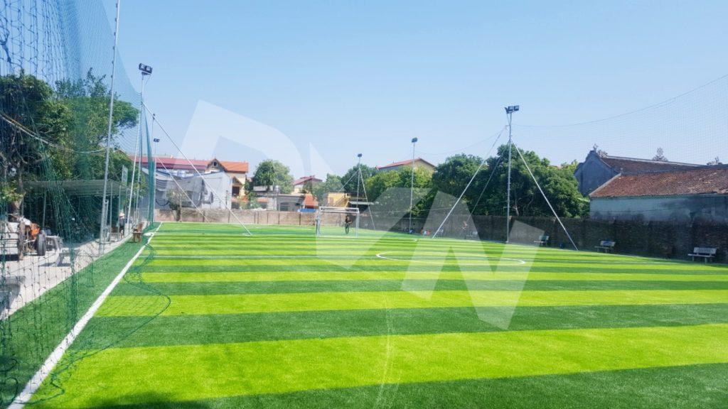 Những lưu ý về cấu tạo cỏ sân bóng nhân tạo 1