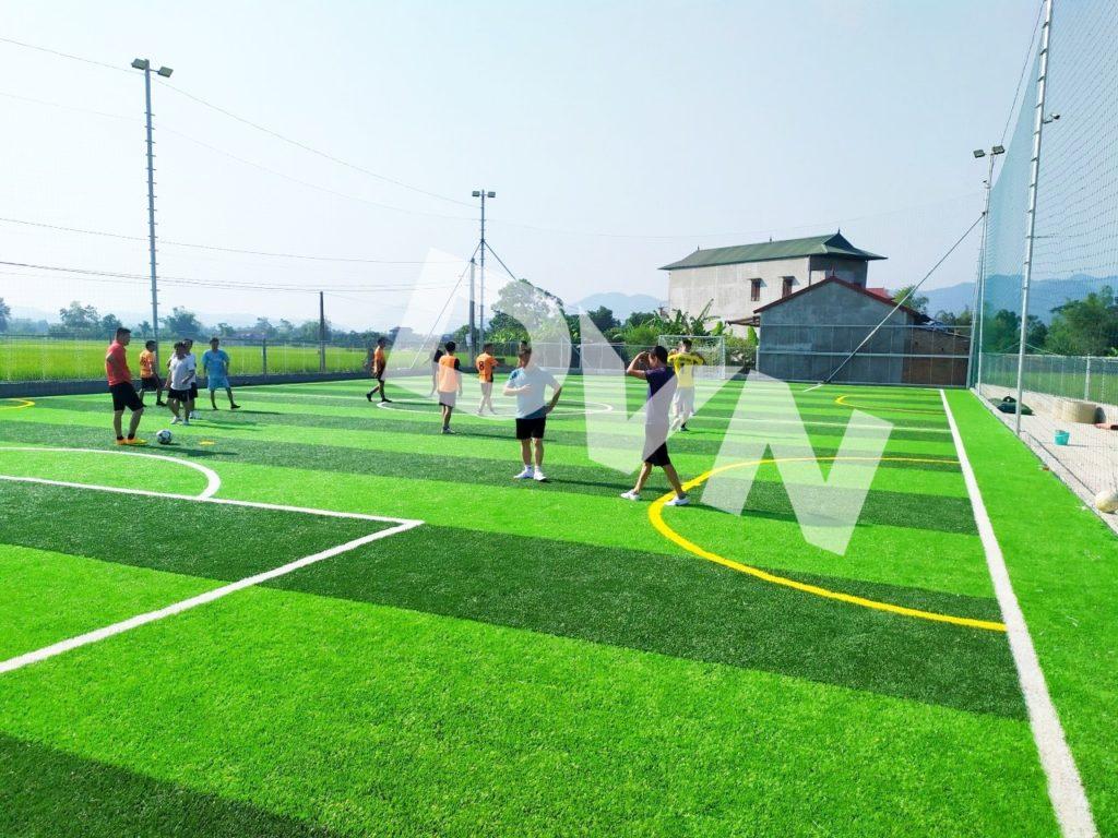 1, Một số hình ảnh sân bóng cỏ nhân tạo Tràng Định 3