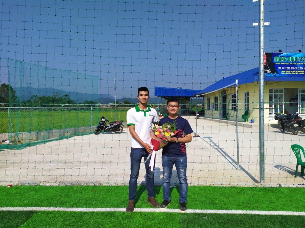 1, Một số hình ảnh sân bóng cỏ nhân tạo Tràng Định 2