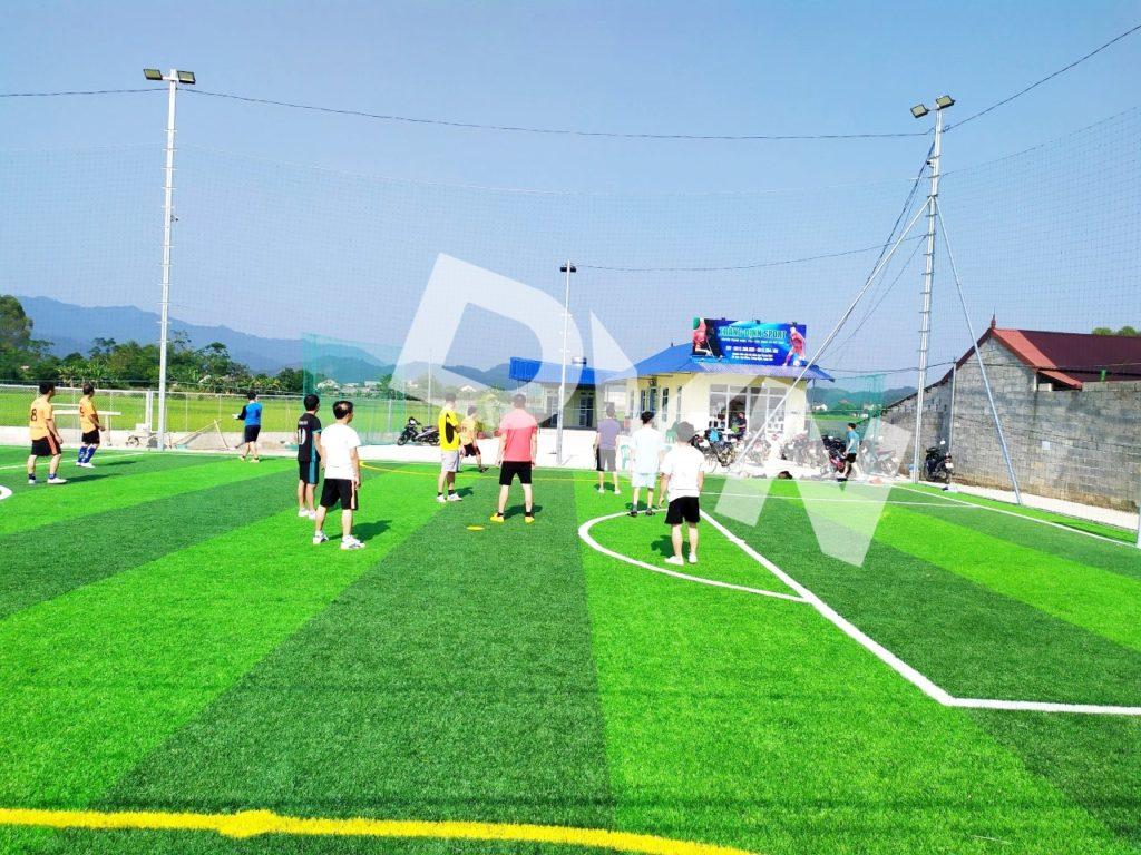 1, Một số hình ảnh sân bóng cỏ nhân tạo Tràng Định 4