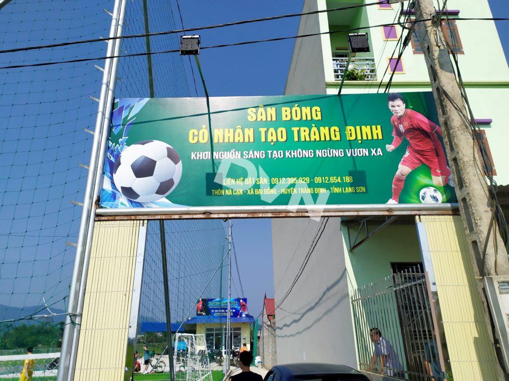 1, Một số hình ảnh sân bóng cỏ nhân tạo Tràng Định 1