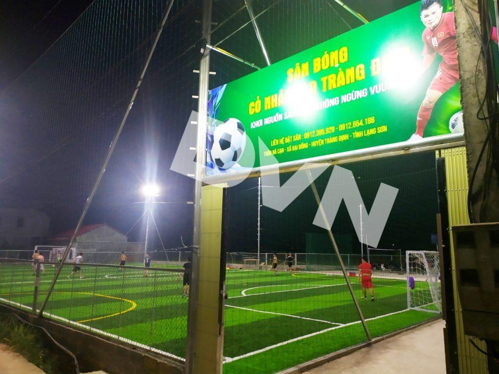 1, Một số hình ảnh sân bóng cỏ nhân tạo Tràng Định 7