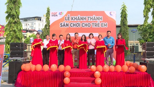1, Một số hình ảnh sân chơi tại phường Kim Tân 1