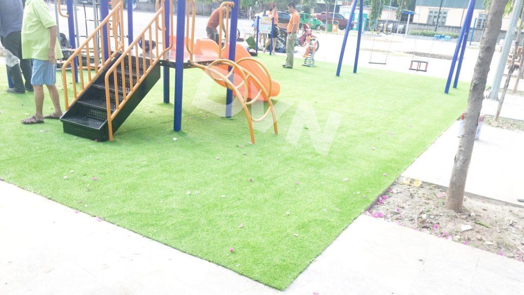1, Một số hình ảnh sân chơi tại phường Kim Tân 4