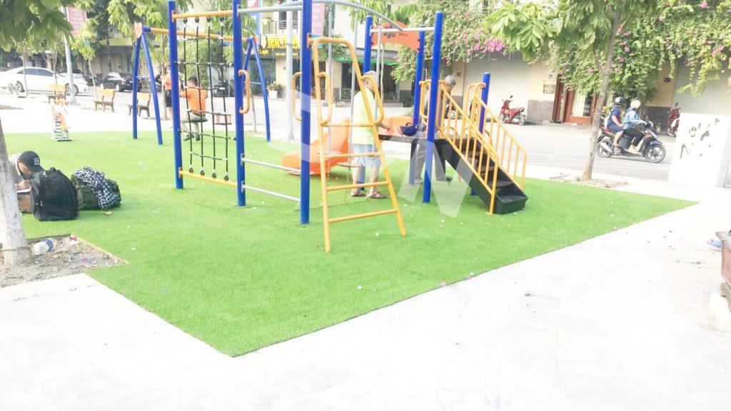 1, Một số hình ảnh sân chơi tại phường Kim Tân 3