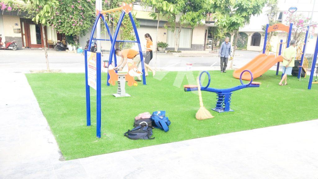 1, Một số hình ảnh sân chơi tại phường Kim Tân 5