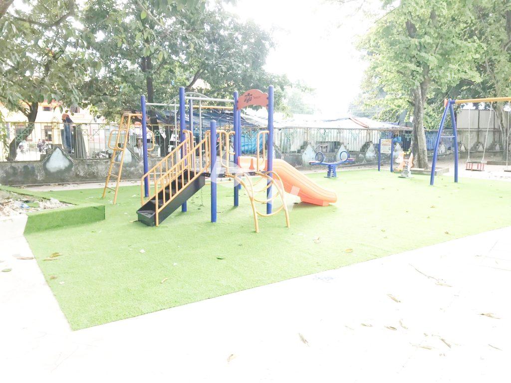 1, Một số hình ảnh sân chơi tại Tp Điện Biên Phủ 1