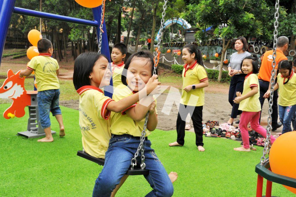 1, Một số hình ảnh sân chơi tại Trường tiểu học thị trấn Cầu Gồ 5