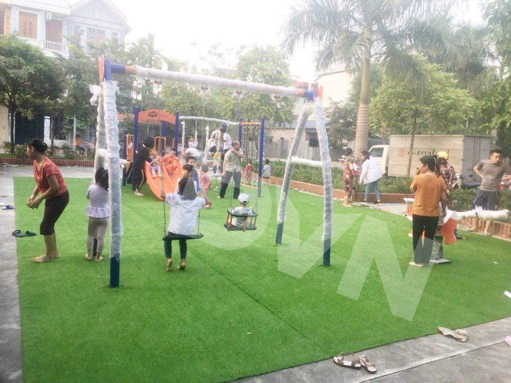1, Một số hình ảnh sân chơi cỏ nhân tạo tại Thái Bình 1