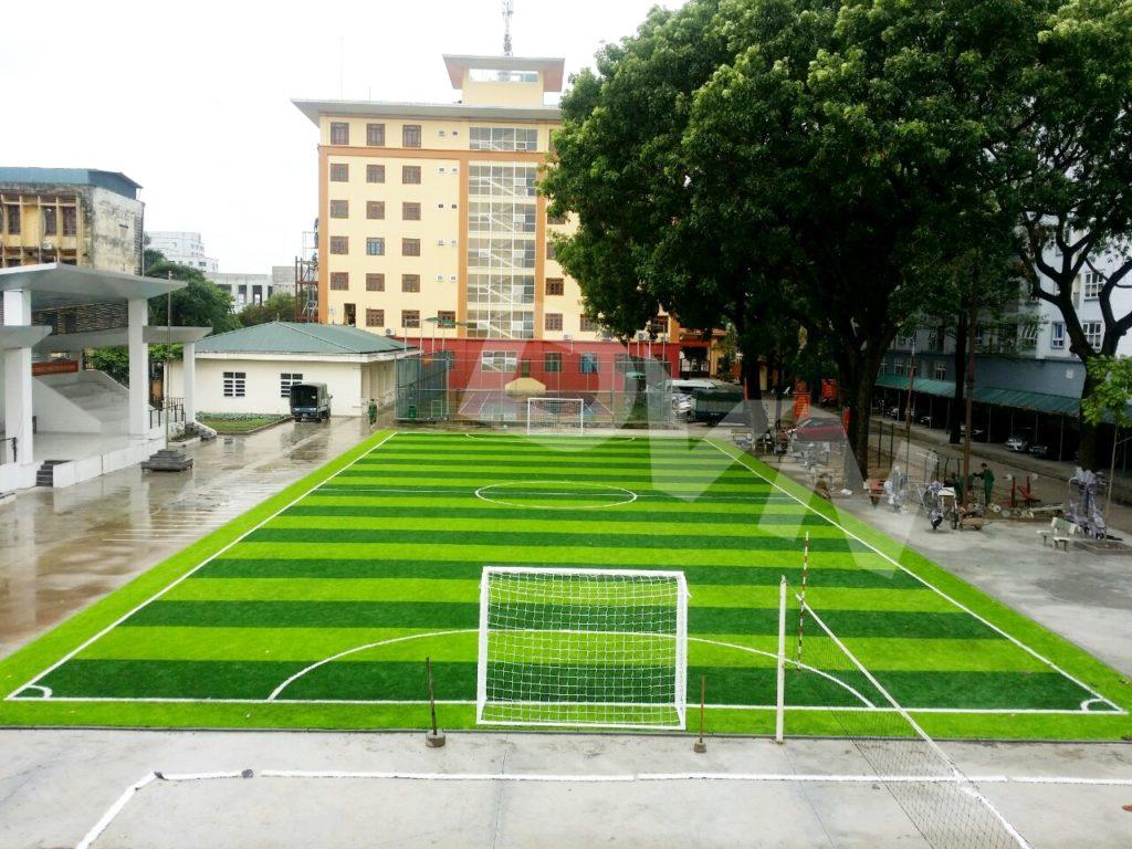 Kích thước sân bóng đá ở Việt Nam 1